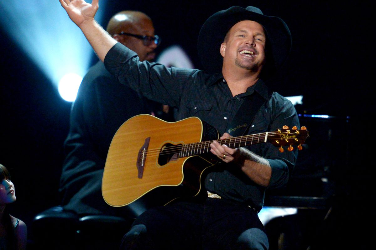 Garth's back, everybody. And he has a message for you.