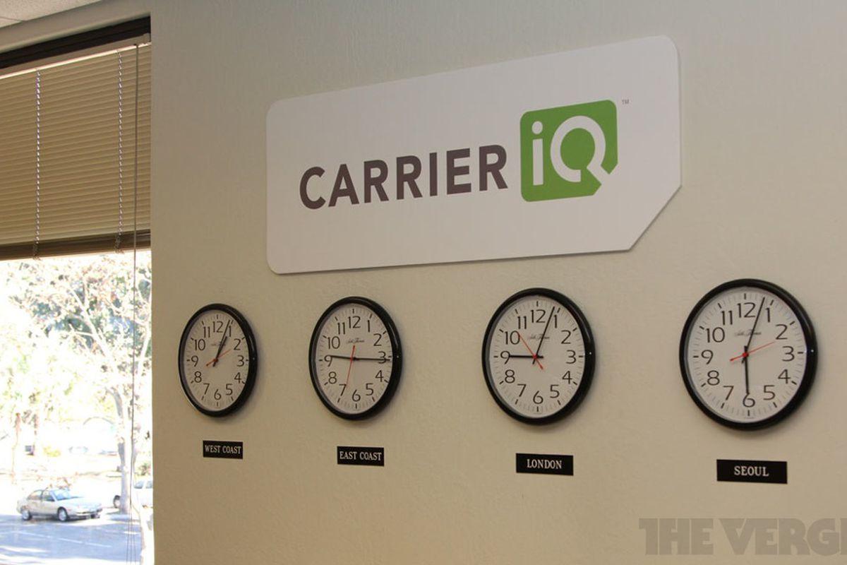 Carrier IQ Clocks 1000