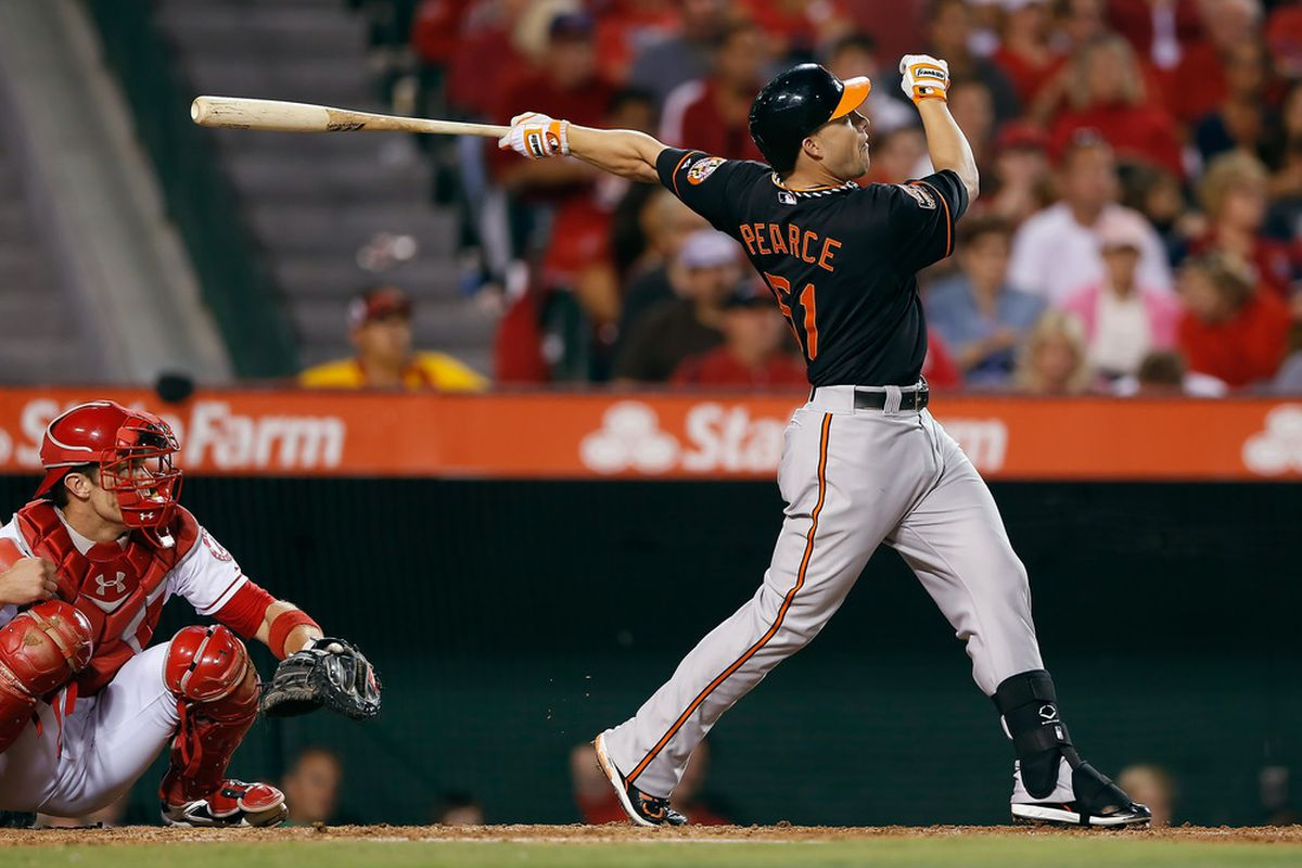 This is Steve Pearce. All you need to know about him is that he just ruined your Friday evening.