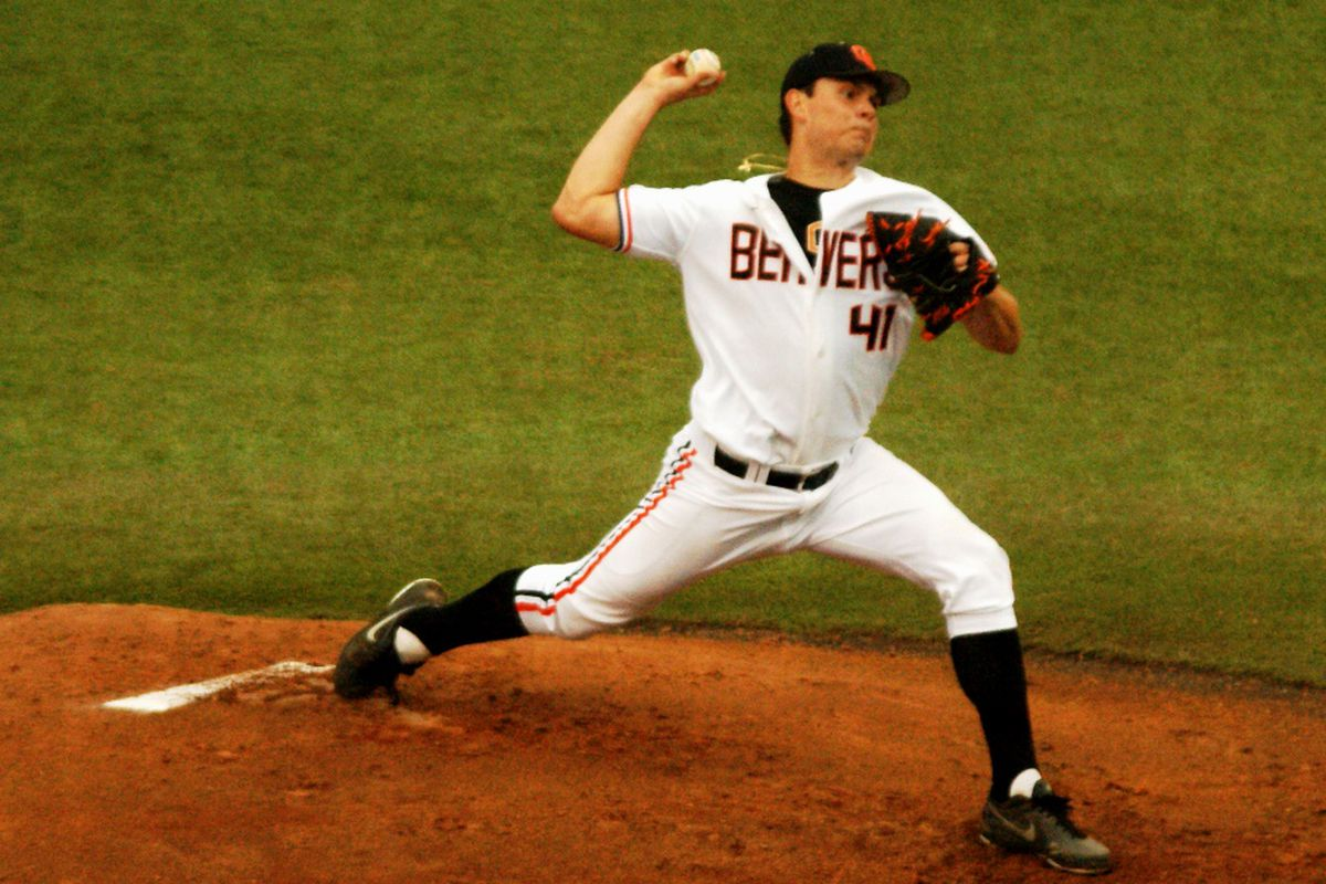 Dan Child is expected to take the mound for Oregon St. against San Francisco tonight.