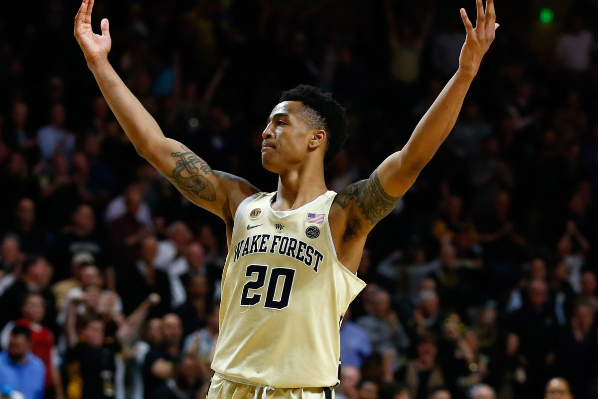 NCAA Basketball: Pittsburgh at Wake Forest