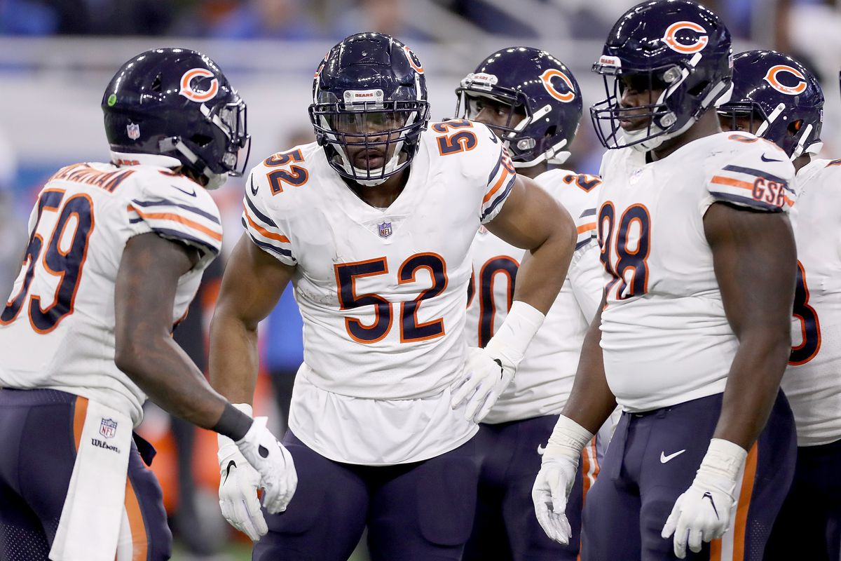 90bbfbf7b 5 questions about the Chicago Bears  Khalil Mack