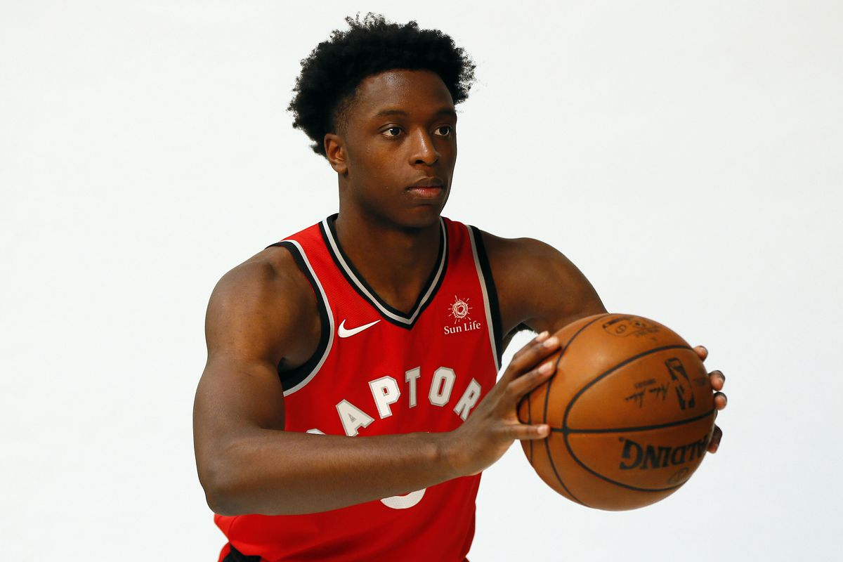 The OG Anunoby Quote of the Week  On spending time in Toronto ... 79e8f206a