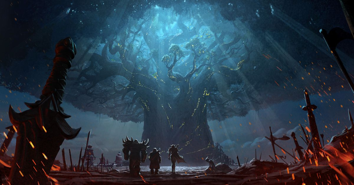 World Of Warcraft Wallpaper Bfa: World Of Warcraft's Burning Of Teldrassil Cinematic Is A