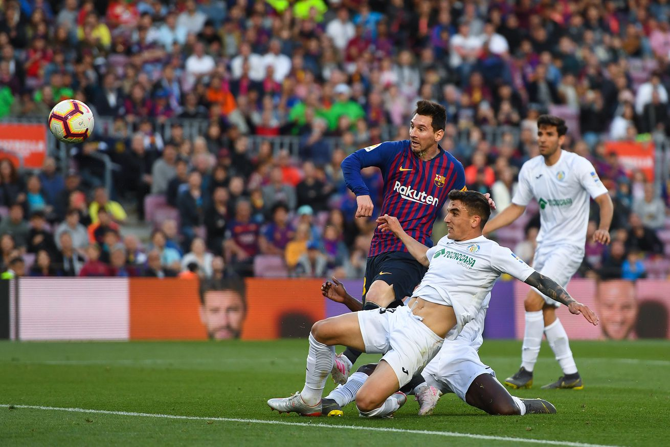 Barcelona were on a hiding to nothing against Getafe