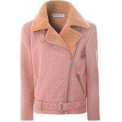 "<b>Glamorous</b>, <a href=""http://www.glamorous.com/pink-suedette-oversized-biker-jacket.html"">$146</a>"