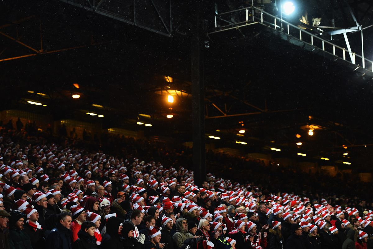 Saints fans watch on as the side notch up a 3-1 win over Crystal Palace