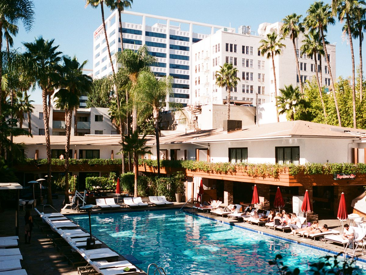 The best hotel pools in los angeles curbed la - Best hotel swimming pools in los angeles ...