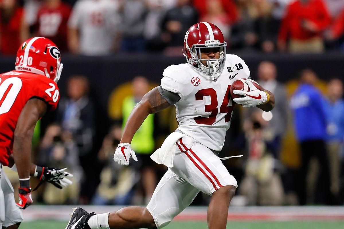 Nfl Draft 2018 Damien Harris Returning To Alabama Per Report Sbnation Com