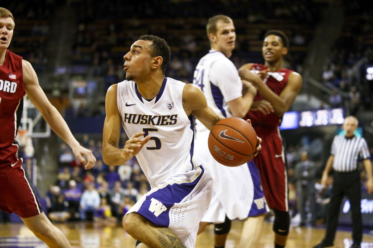 Nigel Williams-Goss led the Dawgs with 17 points