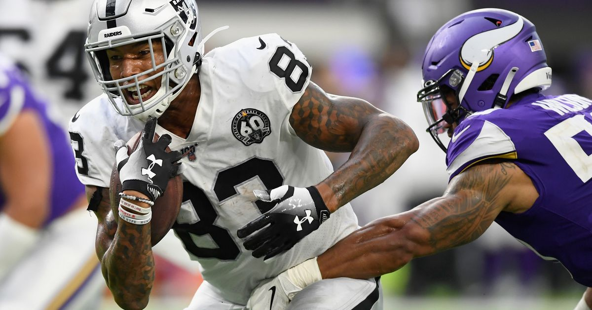 Silver Mining 9/23: Career day for TE Darren Waller lone bright spot for Raiders in loss to Vikings