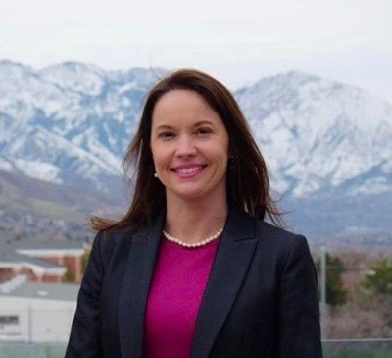 Democrat Chris Peterson named Karina Brown as his running mate for Utah governor.