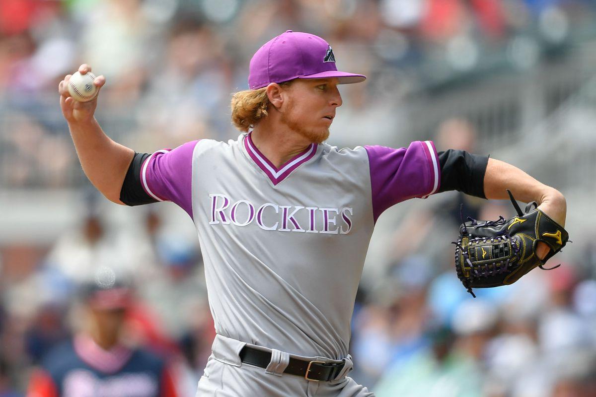 MLB: Colorado Rockies at Atlanta Braves