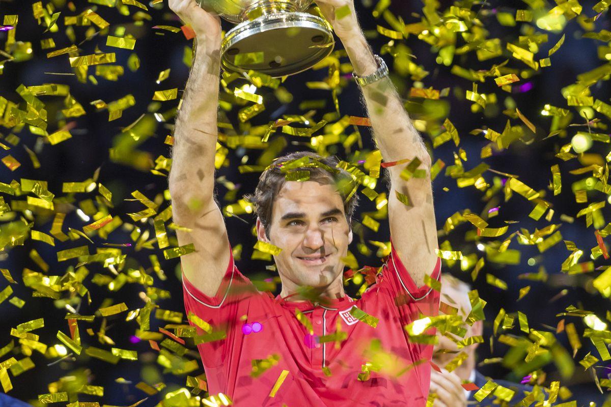 Roger Federer's $106.3 million in earnings put him on top of Forbes' annual earnings list.