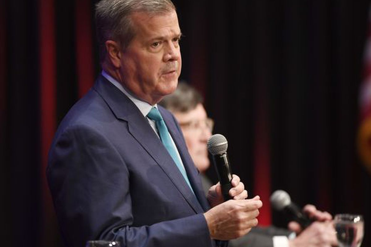 Former Nashville Mayor Karl Dean is the Democratic nominee for Tennessee governor, running against Republican Bill Lee.