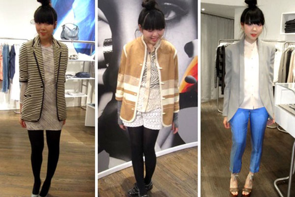 Susie Bubble at Intermix in New York