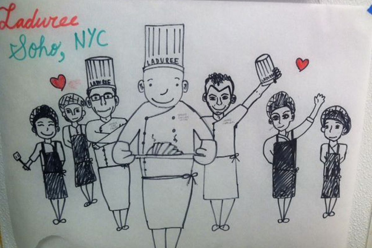The pastry chefs