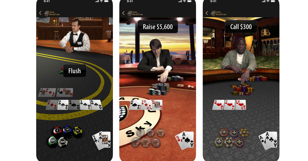 Apple's Texas Hold'em game returns to the iPhone to celebrate 10 years of the App Store