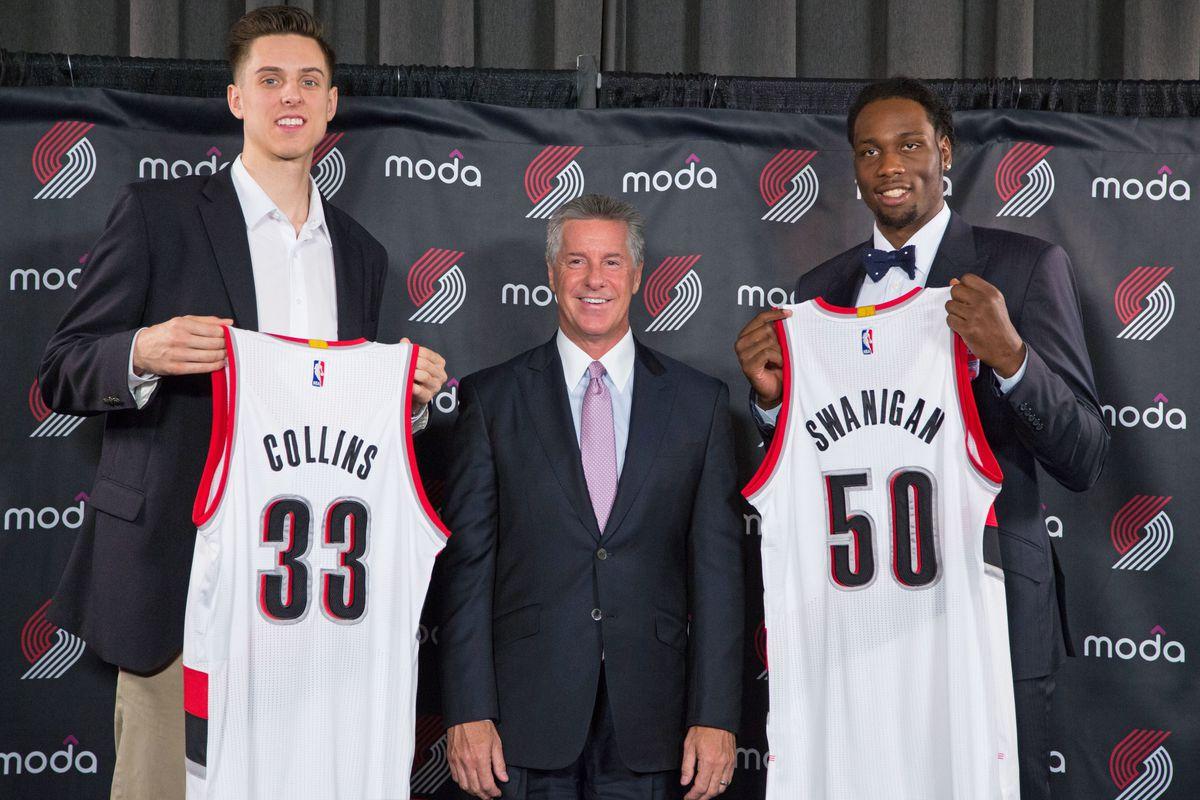 Portland Trail Blazers Introduce 2017 Draft Picks