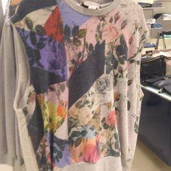 Preen sweatshirt vest, $251