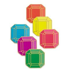 """Kate Spade Paper Gem Coasters, <a href=""""http://www.katespade.com/paper-gem-coasters/PSRU0967,default,pd.html?dwvar_PSRU0967_color=974&start=90&cgid=%2475-and-under#"""">$20</a> (Set of 6), for the homemaker."""