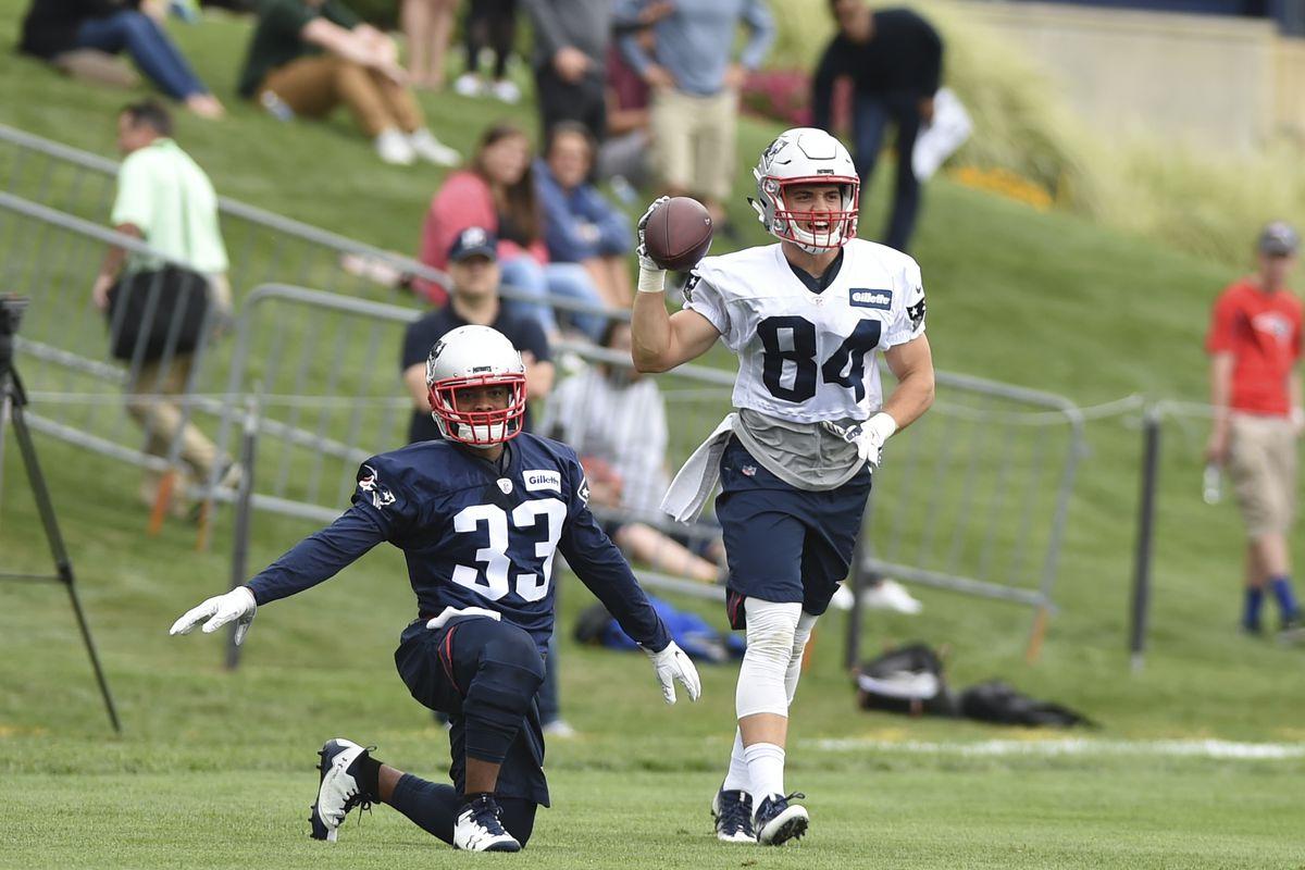 NFL: New England Patriots-Training Camp