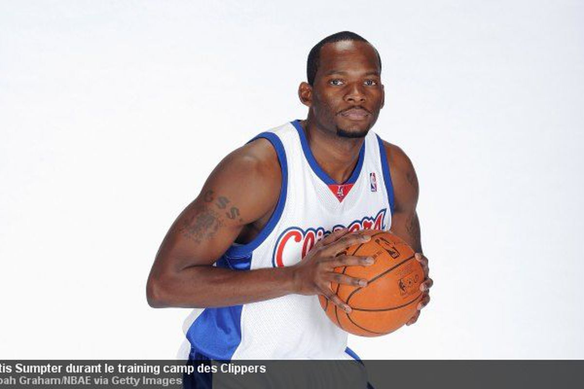 Curtis Sumpter with the Clippers, y'all!