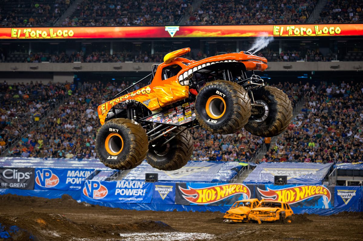 El Toro Loco will be on hand in Rosemont this weekend for Monster Jam.   Courtesy Monster Jam