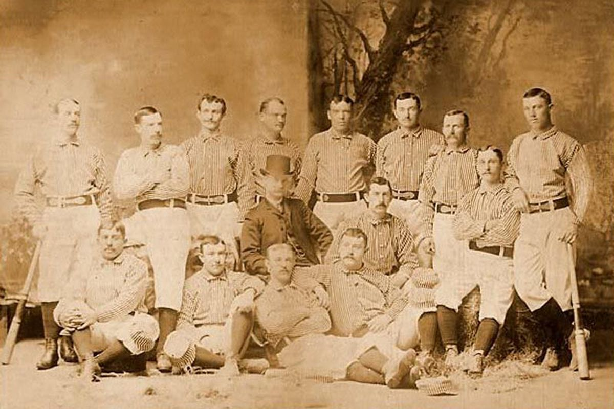 The team that did Shorty Wetzel no favors, the 1885 Baltimore Orioles.
