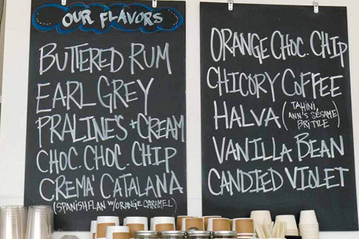 Flavors at Mr. & Mrs. Miscellaneous in the Dogpatch.