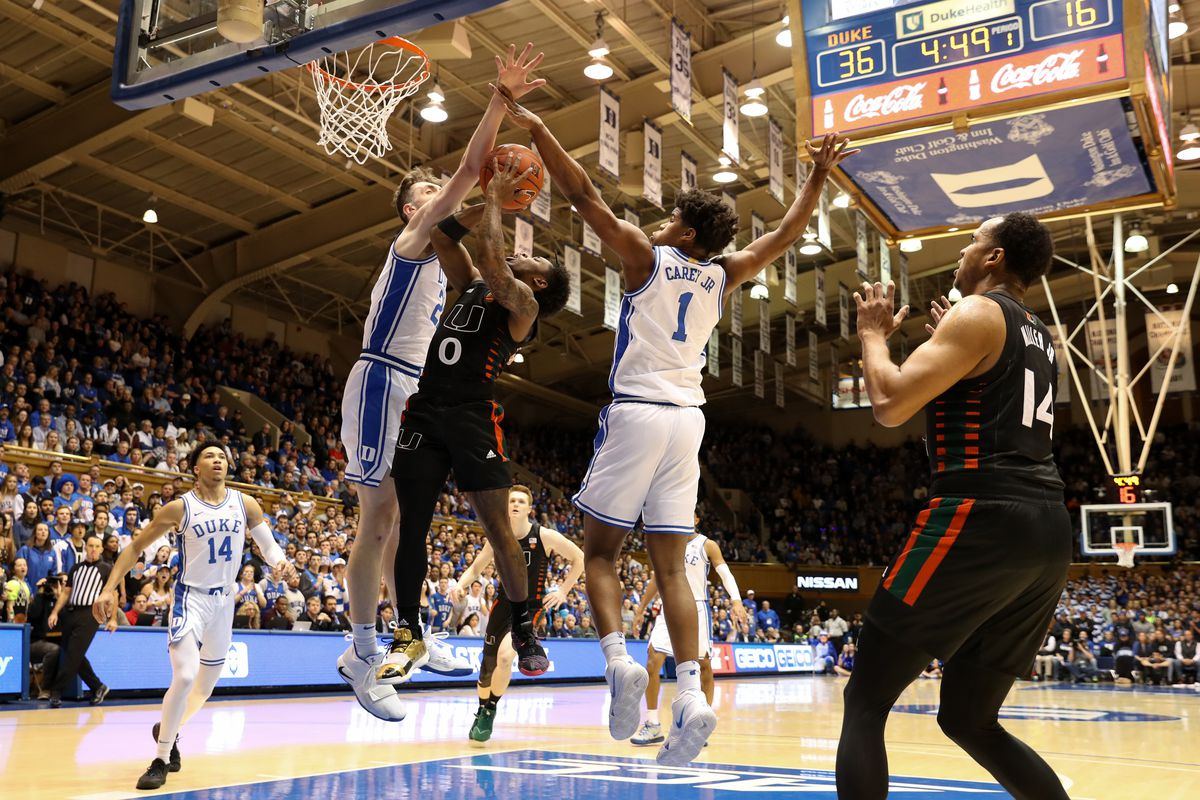 Canes Hoops: Miami Again Blown Out at Cameron Indoor