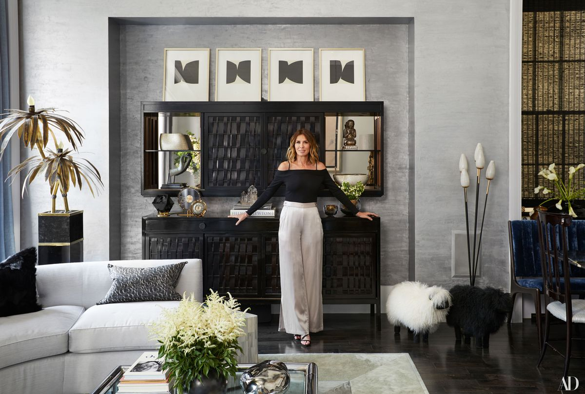 Real Housewives Star Carole Radziwill Shows Off Her Glam