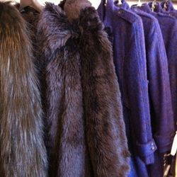 Relative to the $1000+ fur jacket on the left, the $375 boucle jackets don't seem so bad.
