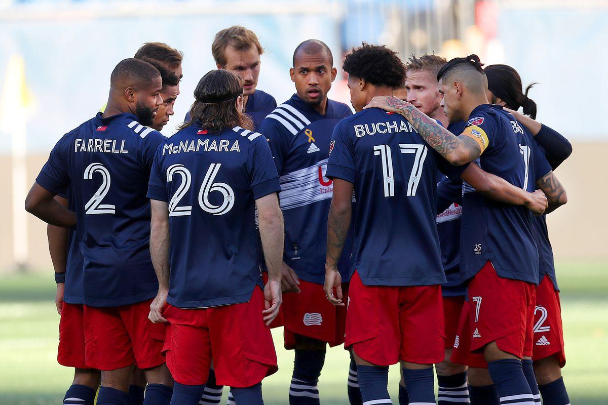 New England Revolution Host New York City FC At Gilette Stadium