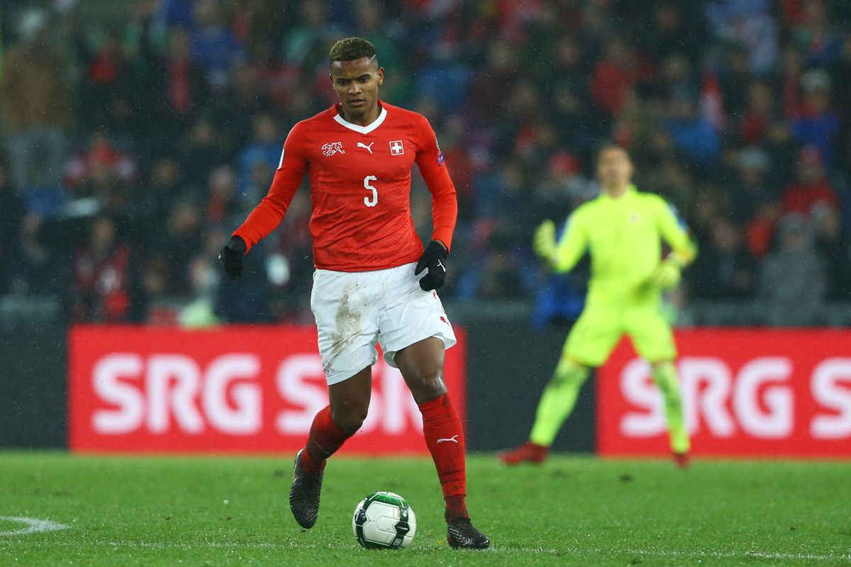 during the FIFA 2018 World Cup Qualifier Play-Off: Second Leg between Switzerland and Northern Ireland at St. Jakob-Park on November 12, 2017 in Basel, Basel-Stadt.