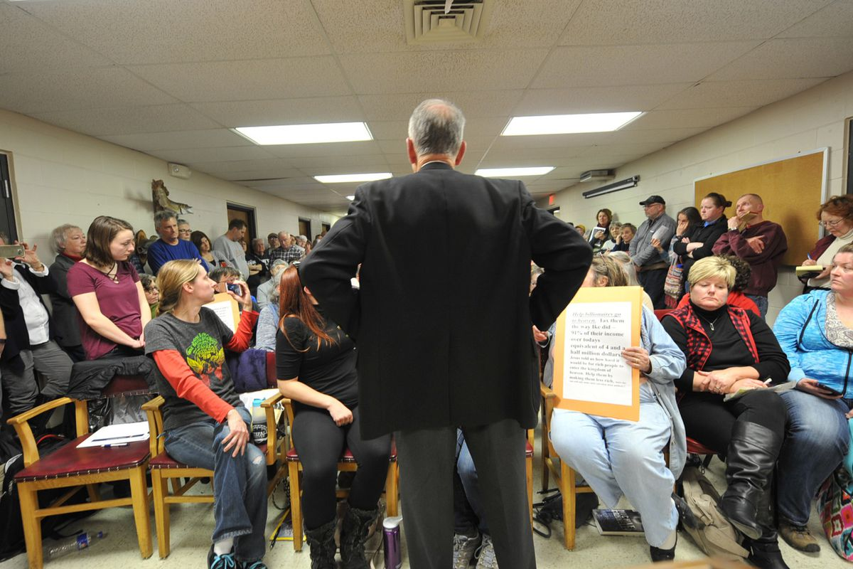 Sen. Charles Grassley Holds Constituent Town Hall In Iowa