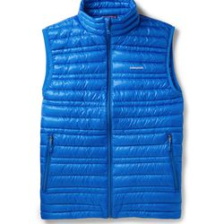 """<a href=""""http://www.mrporter.com/en-us/mens/patagonia/down-filled-quilted-gilet/441704"""">Patagonia lightweight gilet</a>, $200 <br>""""Now is the time to invest in a padded vest, known in Europe as a """"gilet"""". Suave Italians have led the charge in layering gi"""