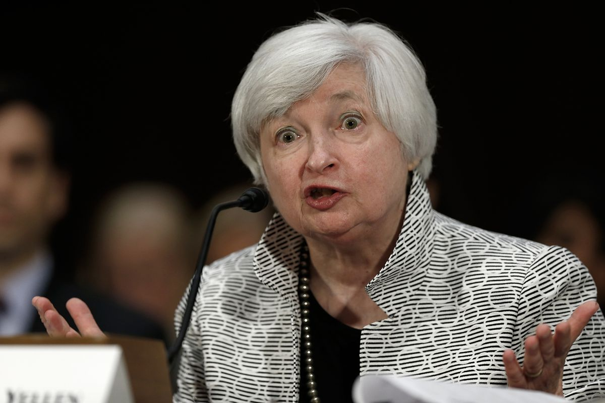 In true Fed Chair form, Yellen said a lot without really saying a lot.