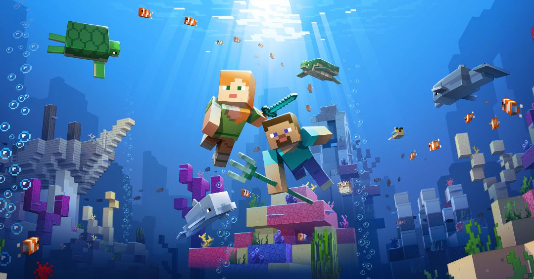 Minecraft S Update Aquatic Has Us Excited To Craft Mines