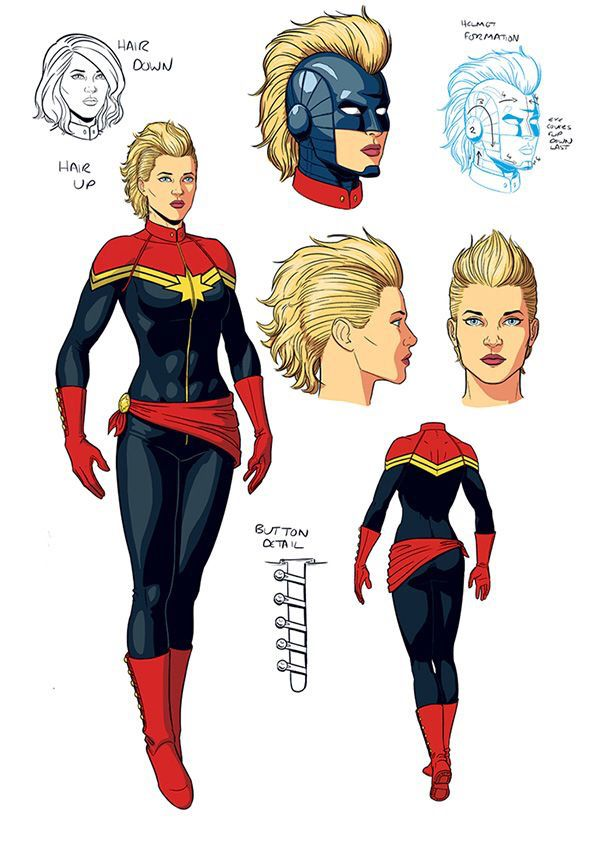 Captain Marvel S Origin Powers And Comic History Explained By