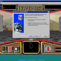 Microsoft brings classic 'Hover!' Windows 95 game to the web
