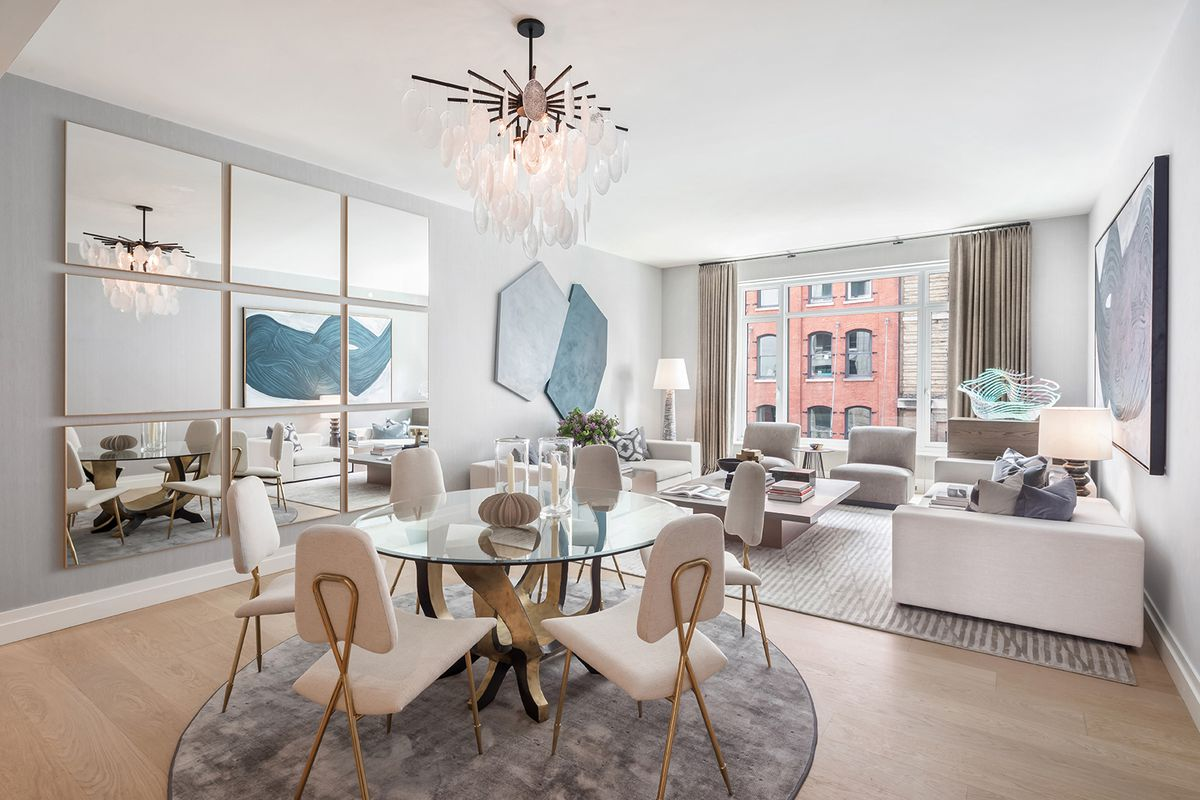 first look inside robert a m stern s luxe tribeca condo 70 vestry curbed ny