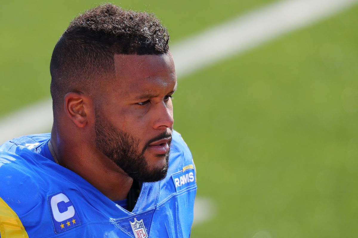 Joe Judge Rams Aaron Donald Will Show Up And Ruin Your Day Big Blue View