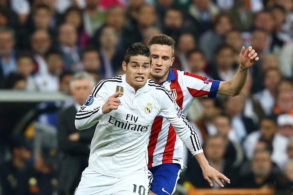 Soccer - UEFA Champions League - Real Madrid vs. Atletico de Madrid