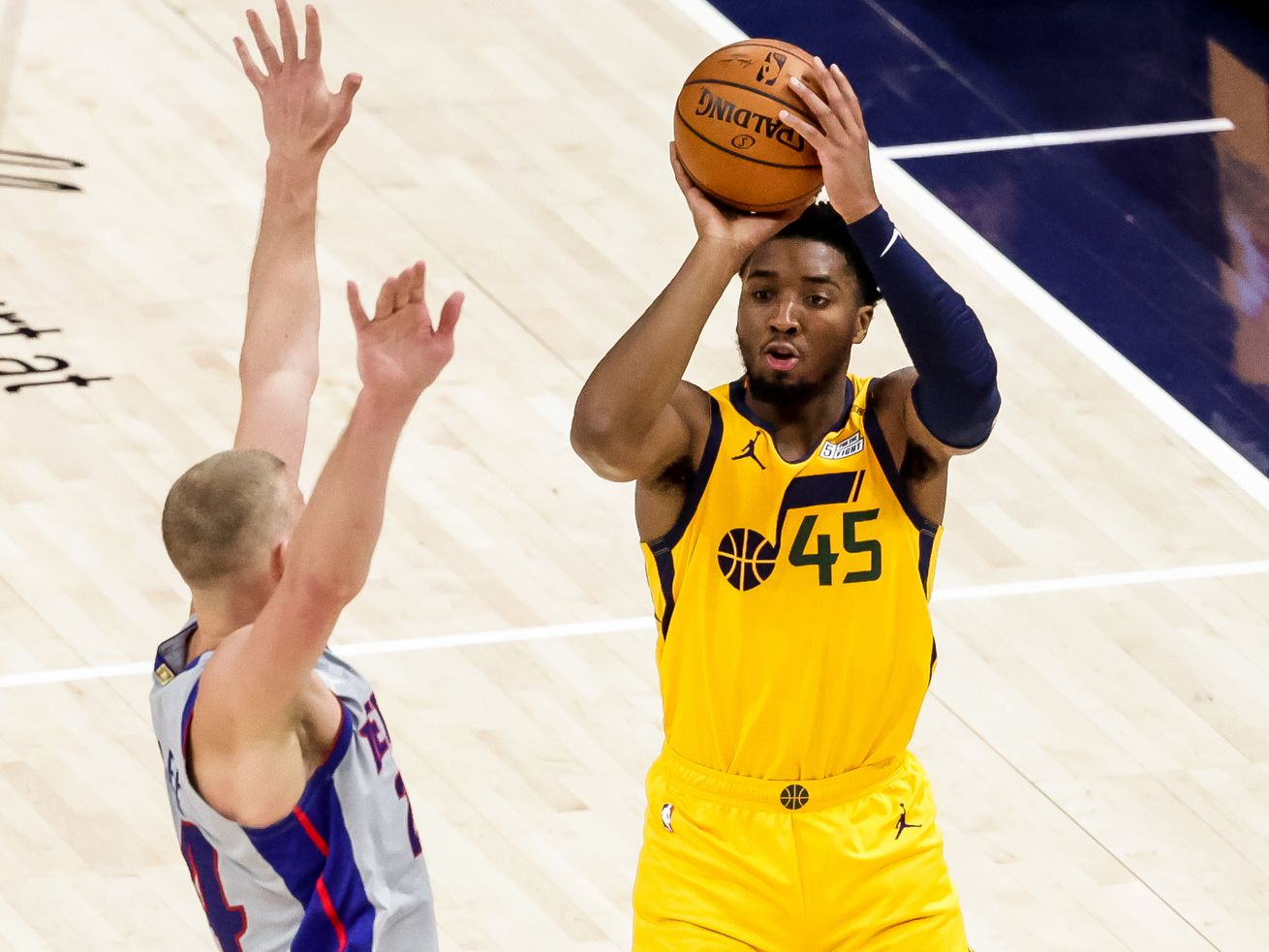Donovan Mitchell will be in the 3-point contest during the NBA All-Star break. Here's his competition
