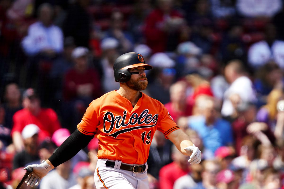 promo code 569c9 2f68a Orioles roll over Red Sox, 9-5, as Chris Davis ends hitless ...