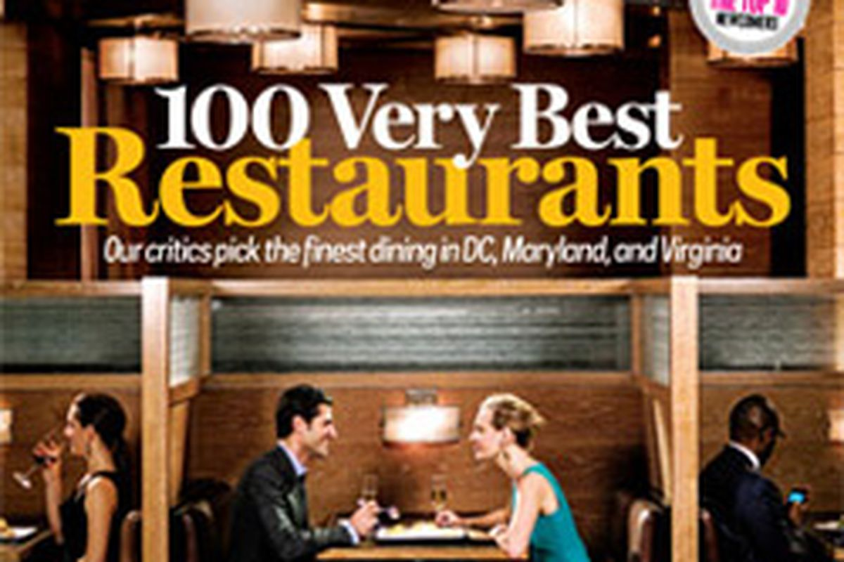 The Washingtonian Names Its 100 Very Best Restaurants Eater Dc