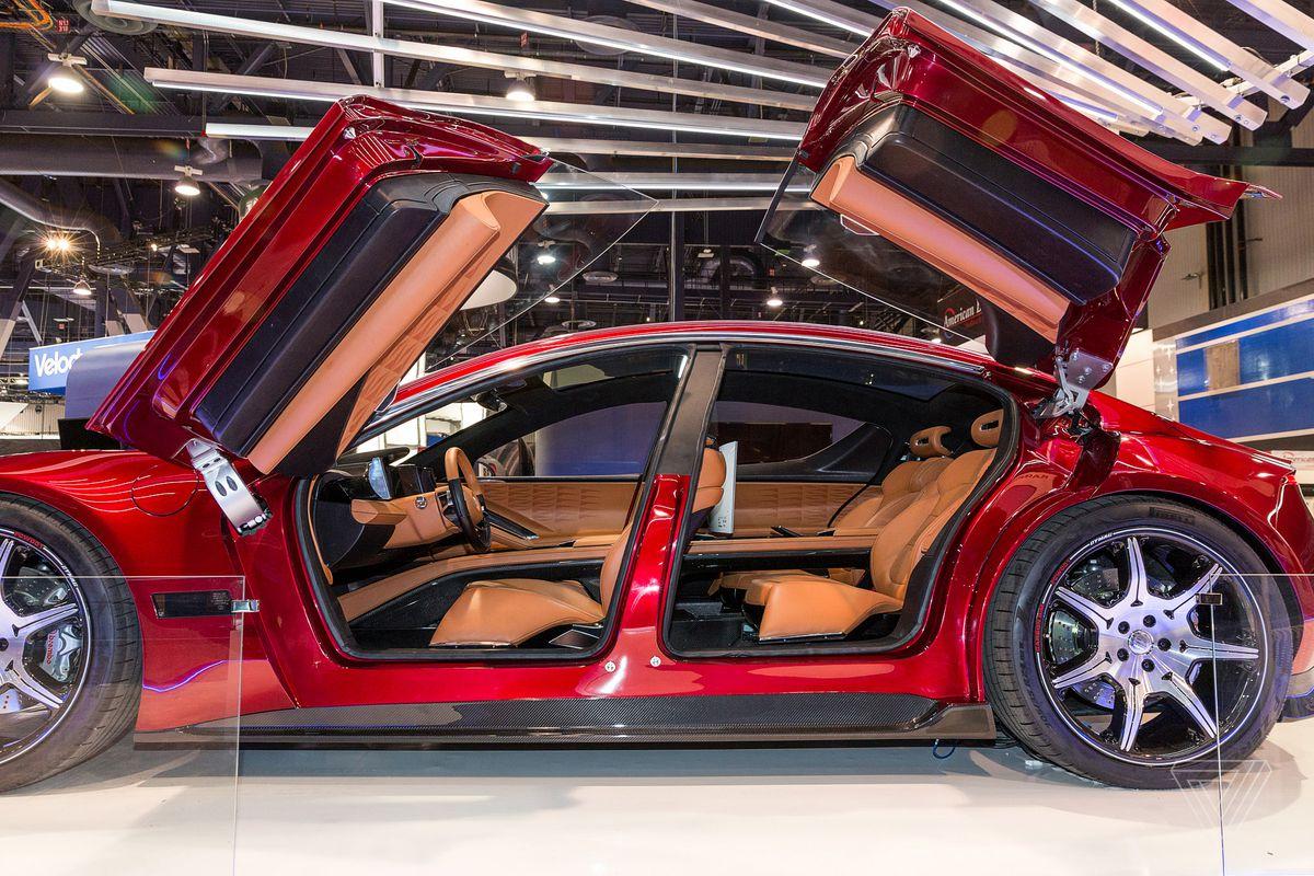 How To Start A Car With A Dead Battery >> Fisker's 'autonomous' EMotion electric car promises 400 ...