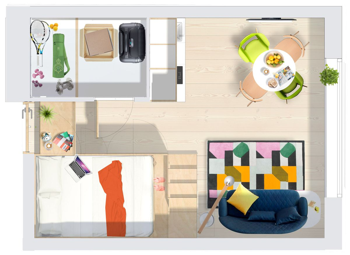 This Micro Apartment Is London S Latest Idea To Combat