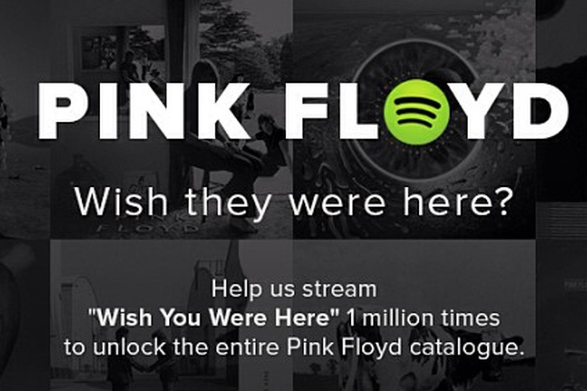 Spotify to unlock Pink Floyd's entire catalog once 'Wish You